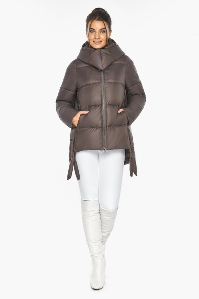 """Оригинальная куртка женская цвет капучино модель 43070 Braggart """"Angel's Fluff"""" фото 2"""
