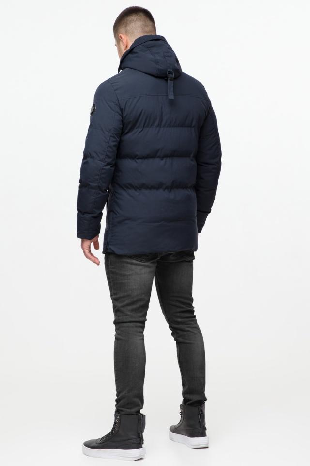 """Куртка мужская с капюшоном синяя зимняя модель 25280 Braggart """"Youth"""" фото 6"""
