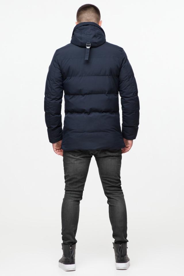 """Куртка мужская с капюшоном синяя зимняя модель 25280 Braggart """"Youth"""" фото 7"""