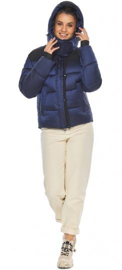 """Модная сапфировая куртка женская зимняя модель 57520 Braggart """"Angel's Fluff"""" фото 1"""