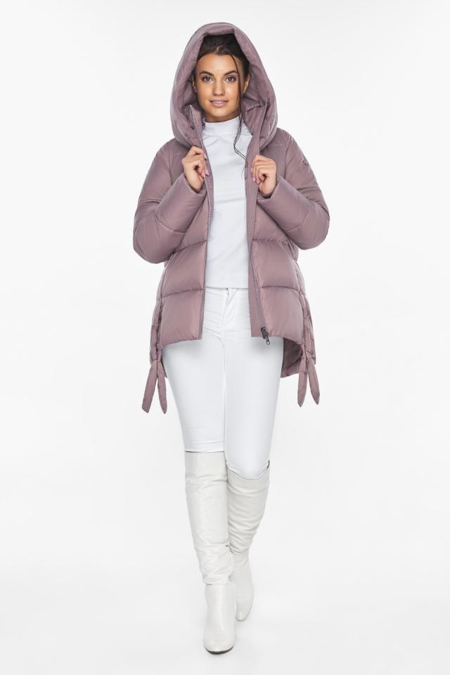 """Пудровая куртка женская комфортная модель 43070 Braggart """"Angel's Fluff"""" фото 5"""