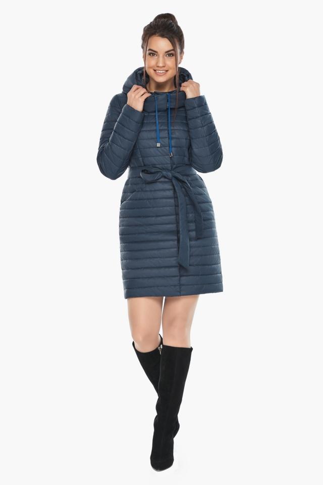 """Куртка синяя женская осенне-весенняя оригинальная модель 66870 Braggart """"Angel's Fluff"""" фото 4"""