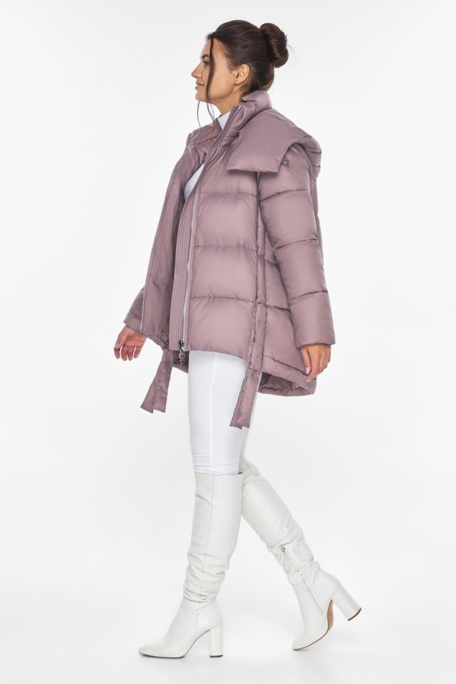 """Пудровая куртка женская комфортная модель 43070 Braggart """"Angel's Fluff"""" фото 2"""