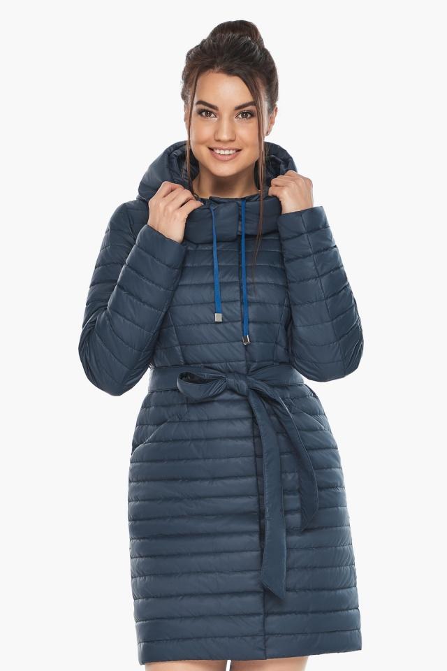 """Куртка синяя женская осенне-весенняя оригинальная модель 66870 Braggart """"Angel's Fluff"""" фото 3"""