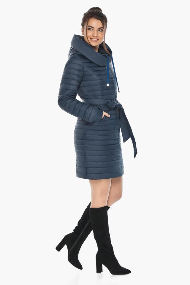 """Куртка синяя женская осенне-весенняя оригинальная модель 66870 Braggart """"Angel's Fluff"""" фото 2"""