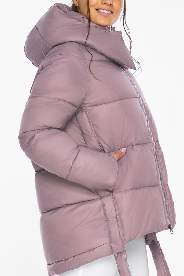 """Пудровая куртка женская комфортная модель 43070 Braggart """"Angel's Fluff"""" фото 9"""