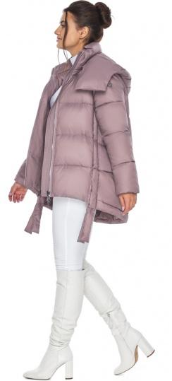 """Пудровая куртка женская комфортная модель 43070 Braggart """"Angel's Fluff"""" фото 1"""
