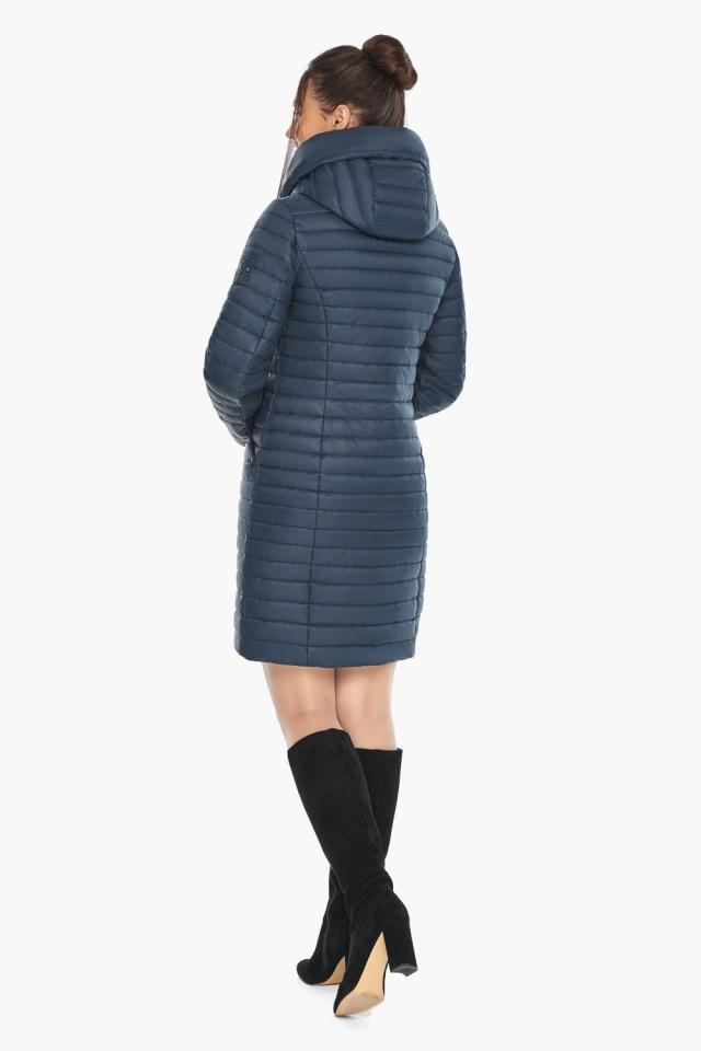 """Куртка синяя женская осенне-весенняя оригинальная модель 66870 Braggart """"Angel's Fluff"""" фото 5"""
