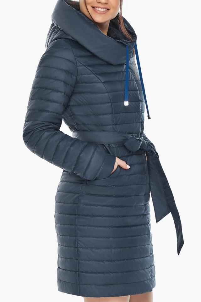 """Куртка синяя женская осенне-весенняя оригинальная модель 66870 Braggart """"Angel's Fluff"""" фото 6"""