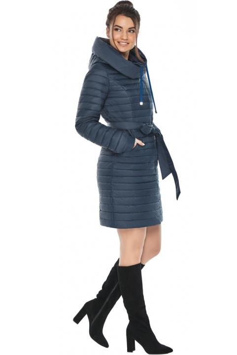 """Куртка синя жіноча осінньо-весняна оригінальна модель 66870 Braggart """"Angel's Fluff"""" фото 1"""