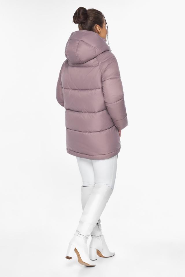 """Пудровая куртка женская комфортная модель 43070 Braggart """"Angel's Fluff"""" фото 8"""