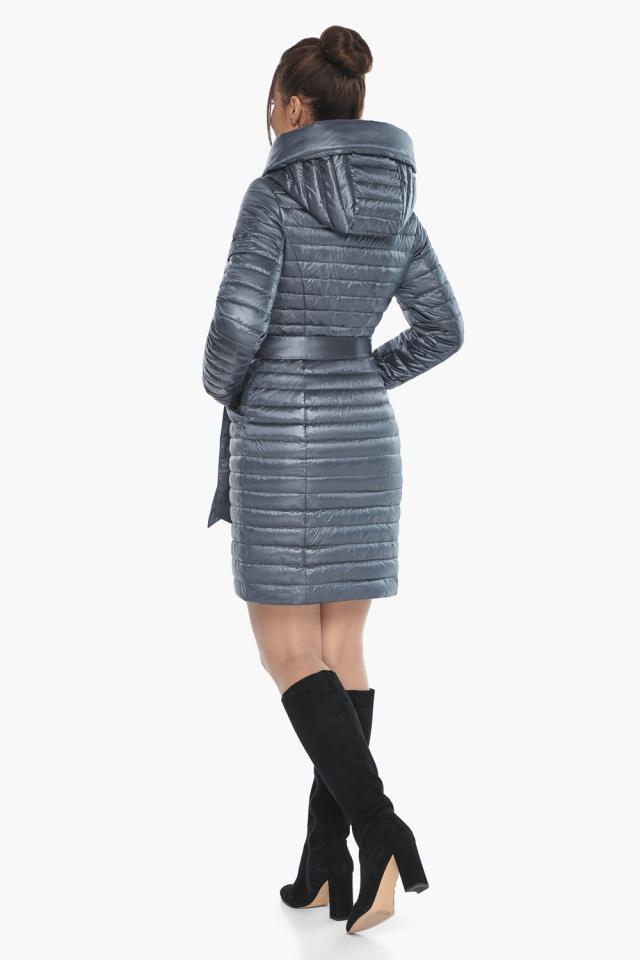 """Женская куртка с капюшоном осенне-весенняя цвета маренго модель 66870 Braggart """"Angel's Fluff"""" фото 7"""