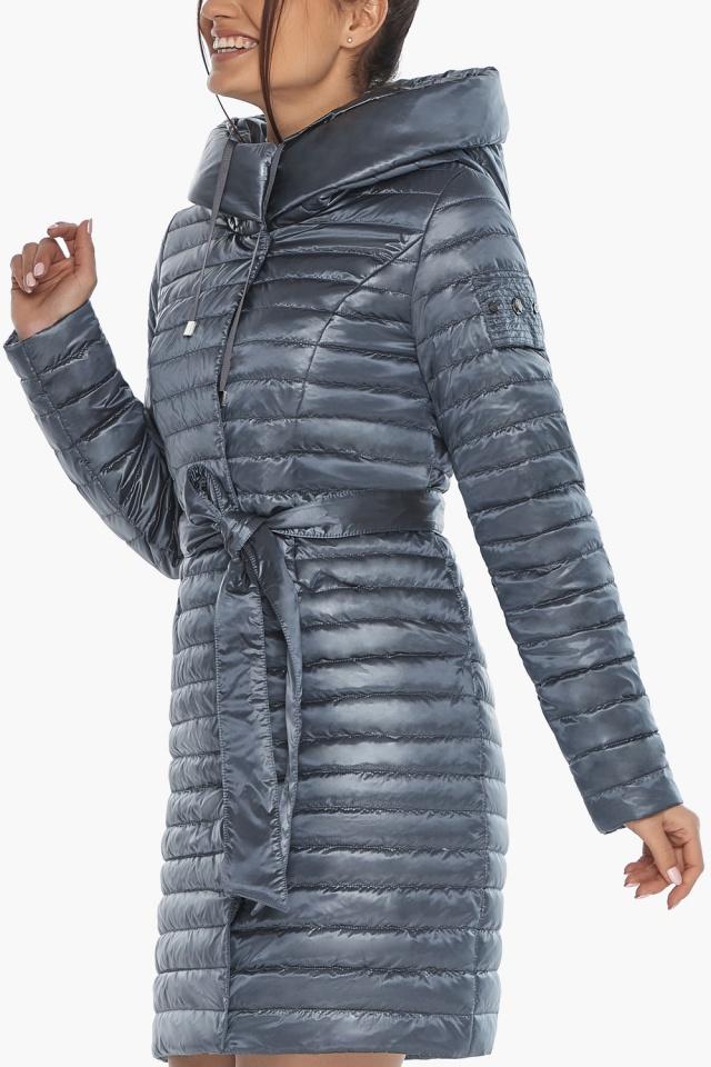 """Женская куртка с капюшоном осенне-весенняя цвета маренго модель 66870 Braggart """"Angel's Fluff"""" фото 8"""