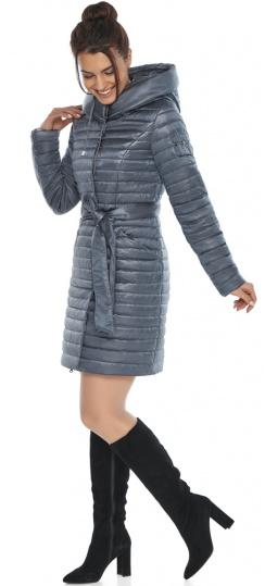 """Женская куртка с капюшоном осенне-весенняя цвета маренго модель 66870 Braggart """"Angel's Fluff"""" фото 1"""