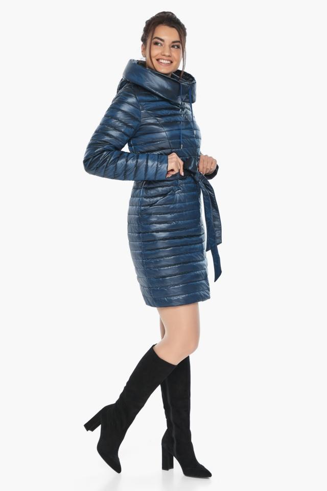"""Элитная женская куртка на осень цвет ниагара модель 66870 Braggart """"Angel's Fluff"""" фото 4"""