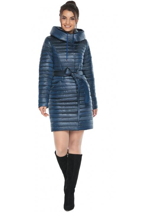 """Елітна жіноча куртка на осінь колір ніагара модель 66870 Braggart """"Angel's Fluff"""" фото 1"""