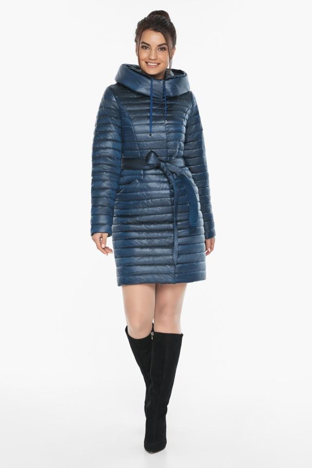 """Элитная женская куртка на осень цвет ниагара модель 66870 Braggart """"Angel's Fluff"""" фото 2"""