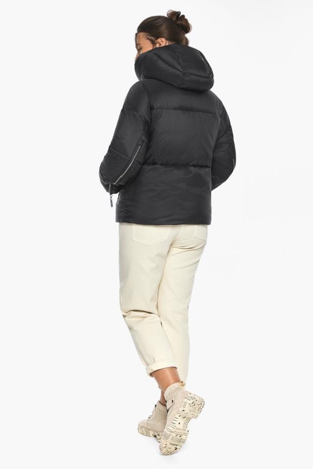 """Куртка женская чёрная зимняя фирменная модель 46280 Braggart """"Angel's Fluff"""" фото 5"""