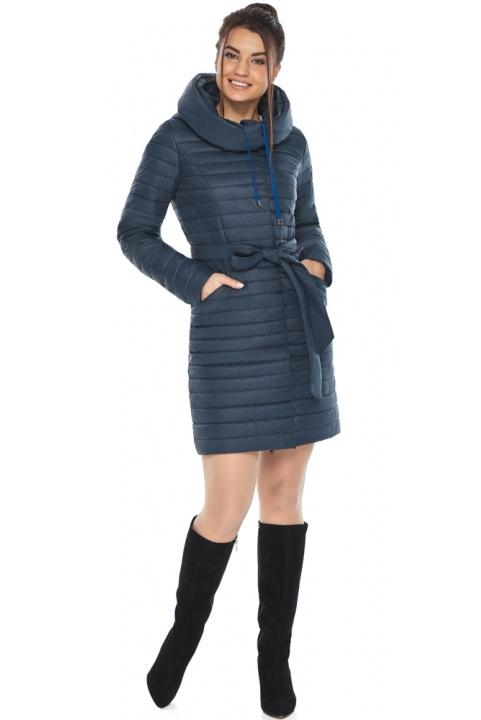 """Синяя куртка женская осенне-весенняя практичная модель 66870 Braggart """"Angel's Fluff"""" фото 1"""