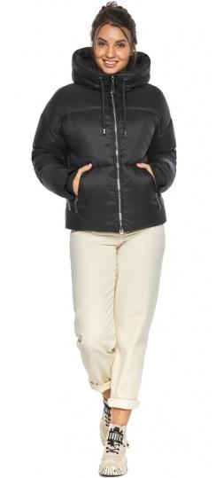 """Куртка женская чёрная зимняя фирменная модель 46280 Braggart """"Angel's Fluff"""" фото 1"""