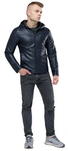 """Легкая куртка темно-синяя осенне-весенняя модель 15353 Braggart """"Youth"""" фото 1"""