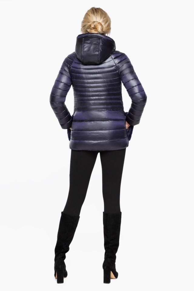 """Фиолетовая куртка прямого фасона женская модель 15115 Braggart """"Angel's Fluff"""" фото 5"""