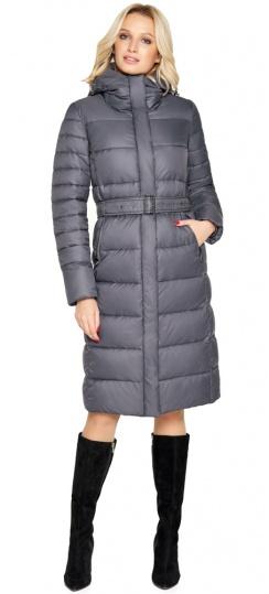 """Брендовая куртка женская цвет муссон модель 31052 Braggart """"Angel's Fluff"""" фото 1"""