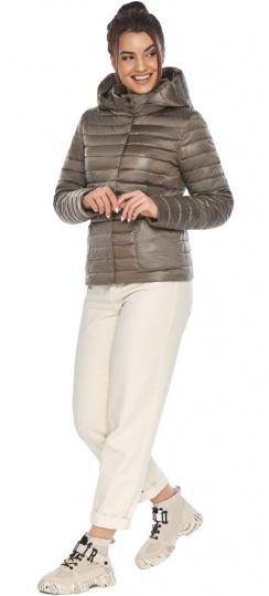 """Капучинова куртка з накладними кишенями жіноча на весну модель 67510 Braggart """"Angel's Fluff"""" фото 1"""