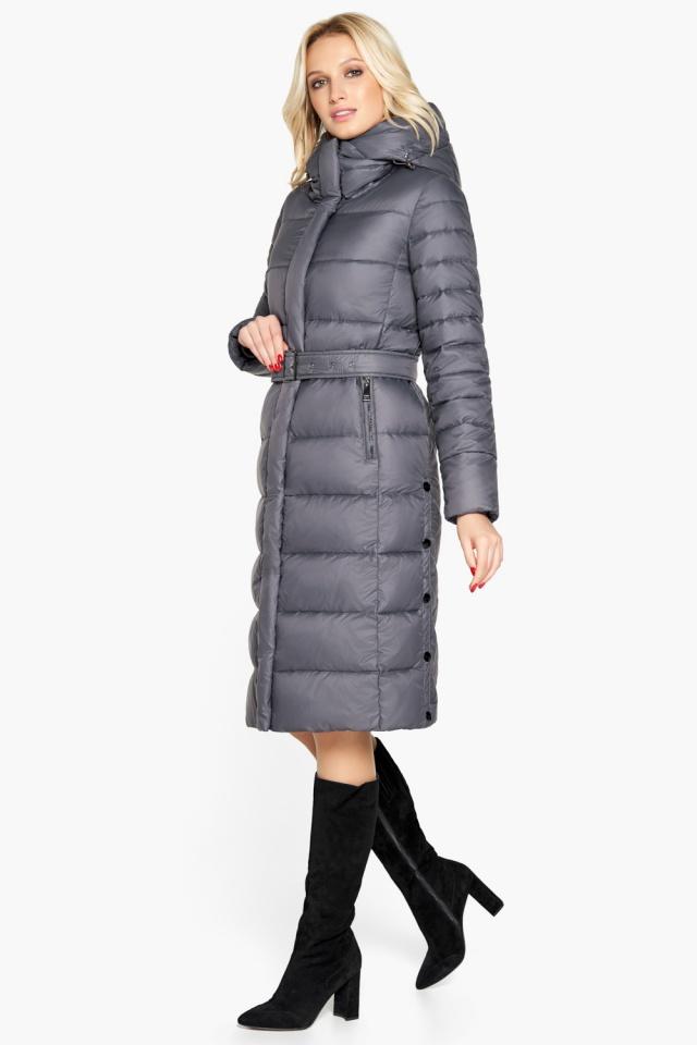 """Брендовая куртка женская цвет муссон модель 31052 Braggart """"Angel's Fluff"""" фото 3"""