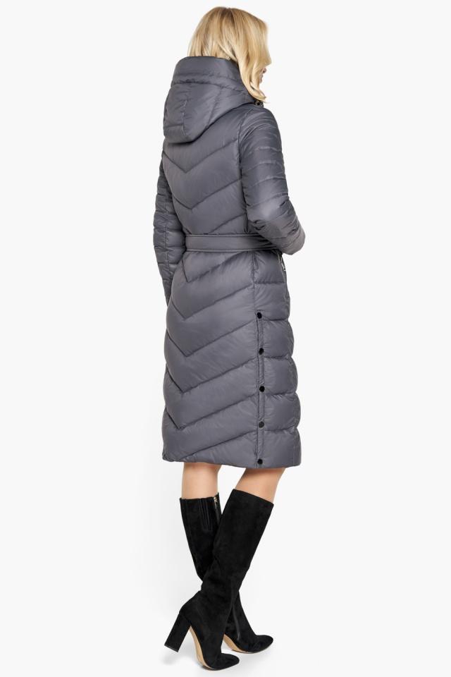 """Брендовая куртка женская цвет муссон модель 31052 Braggart """"Angel's Fluff"""" фото 6"""