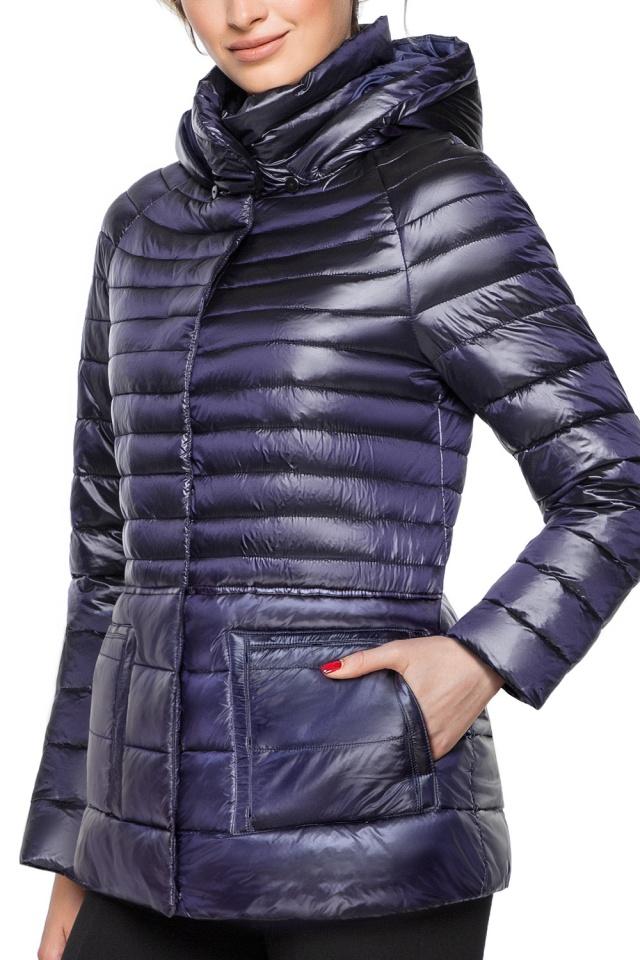 """Фиолетовая куртка прямого фасона женская модель 15115 Braggart """"Angel's Fluff"""" фото 6"""