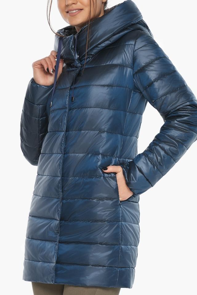 """Куртка модная осенне-весенняя женская цвет ниагара модель 65085 Braggart """"Angel's Fluff"""" фото 6"""