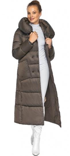 """Куртка женская с накладными карманами цвет капучино модель 46150 Braggart """"Angel's Fluff"""" фото 1"""