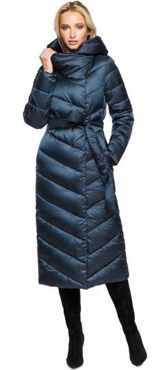 """Сапфировая куртка женская фирменная модель 31016 Braggart """"Angel's Fluff"""" фото 1"""