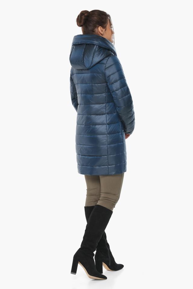 """Куртка модная осенне-весенняя женская цвет ниагара модель 65085 Braggart """"Angel's Fluff"""" фото 5"""