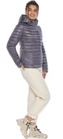 """Осінньо-весняна трендова лавандова куртка жіноча модель 67510 Braggart """"Angel's Fluff"""" фото 1"""