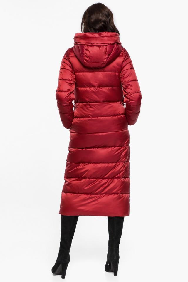 """Яркая рубиновая куртка женская модель 31016 Braggart """"Angel's Fluff"""" фото 6"""