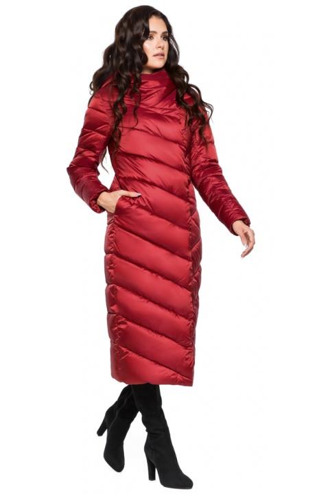 """Яркая рубиновая куртка женская модель 31016 Braggart """"Angel's Fluff"""" фото 1"""