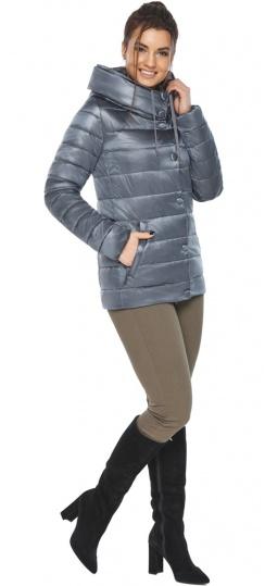 """Осенне-весенняя куртка с вшитым капюшоном женская цвет маренго модель 61030 Braggart """"Angel's Fluff"""" фото 1"""