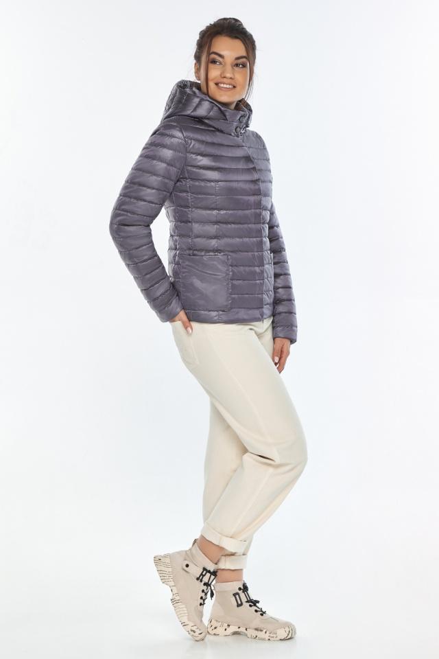 """Осенне-весенняя трендовая лавандовая куртка женская модель 67510 Braggart """"Angel's Fluff"""" фото 2"""