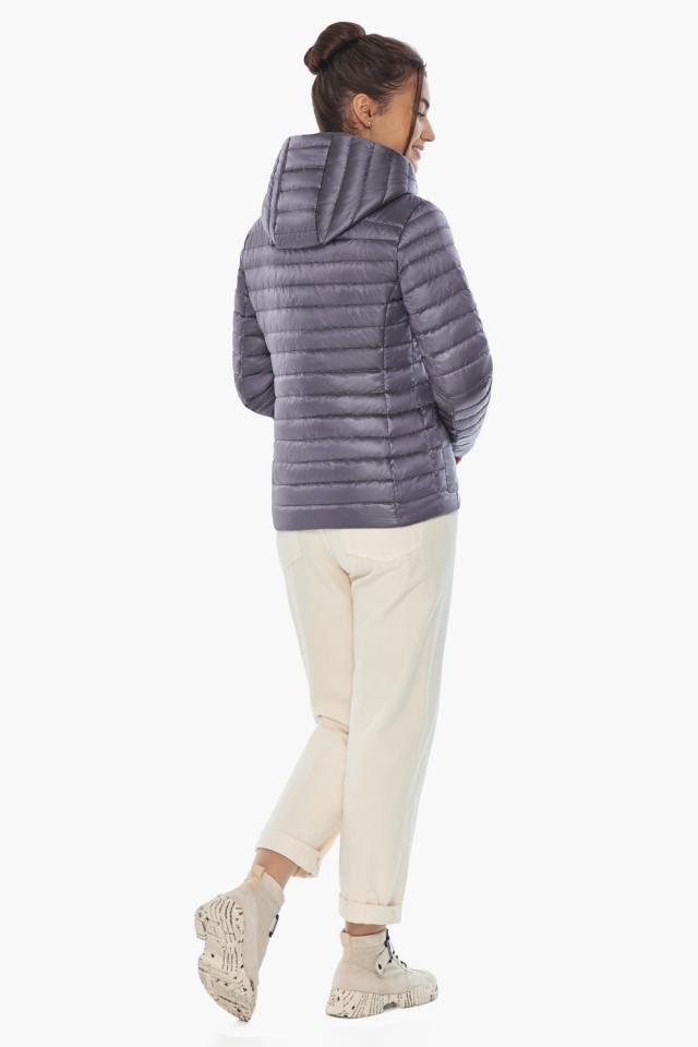 """Осенне-весенняя трендовая лавандовая куртка женская модель 67510 Braggart """"Angel's Fluff"""" фото 7"""
