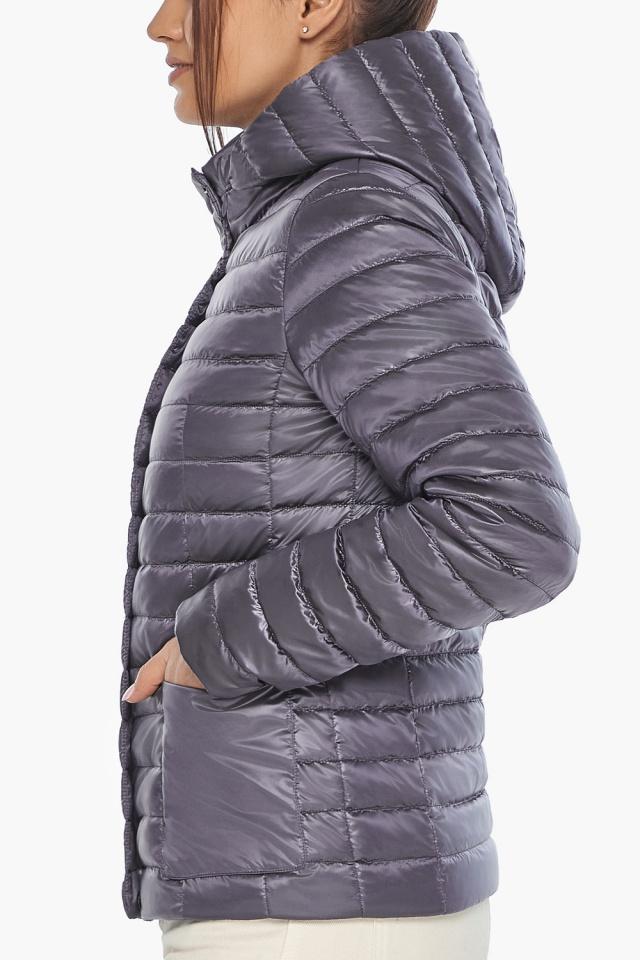 """Осенне-весенняя трендовая лавандовая куртка женская модель 67510 Braggart """"Angel's Fluff"""" фото 8"""