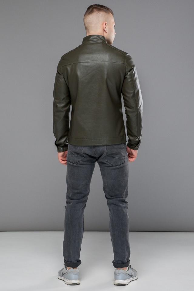 "Осенне-весенняя куртка мужская короткая цвета хаки модель 25825 Braggart ""Youth"" фото 5"