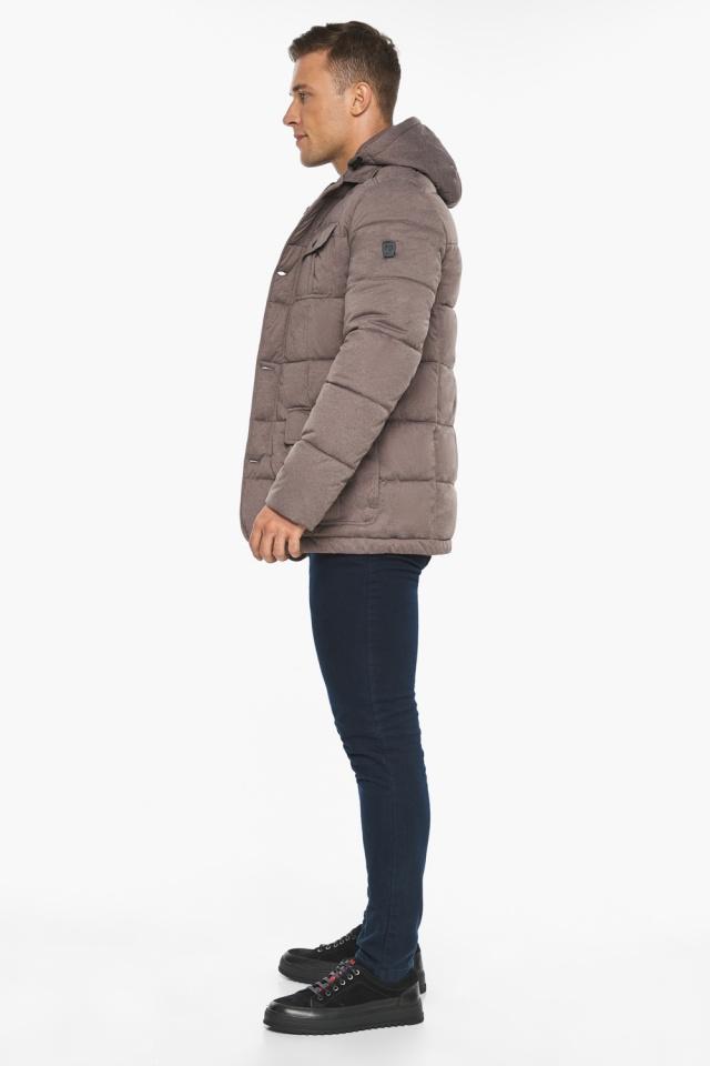 """Куртка – воздуховик на зиму мужской ореховый модель 35230 Braggart """"Angel's Fluff Man"""" фото 8"""