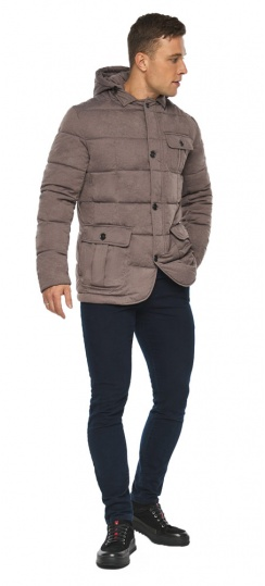 """Куртка – воздуховик на зиму мужской ореховый модель 35230 Braggart """"Angel's Fluff Man"""" фото 1"""