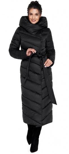 """Удобная куртка чёрного цвета женская модель 31016 Braggart """"Angel's Fluff"""" фото 1"""