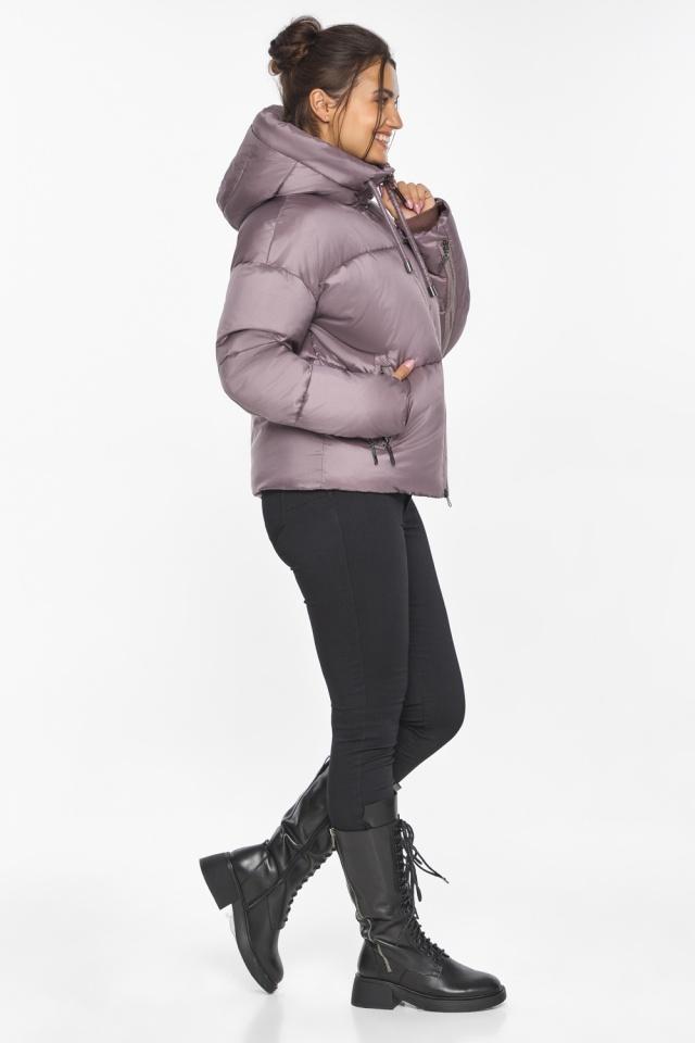 """Пудровая куртка женская с карманами модель 46280 Braggart """"Angel's Fluff"""" фото 8"""