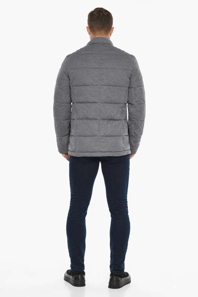 """Куртка – воздуховик мужской пепельный зимний модель 35230 Braggart """"Angel's Fluff Man"""" фото 9"""