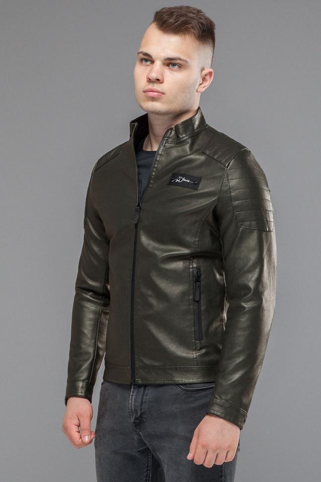 """Куртка мужская непромокаемая осенне-весенняя цвет хаки модель 36361 Braggart """"Youth"""" фото 4"""