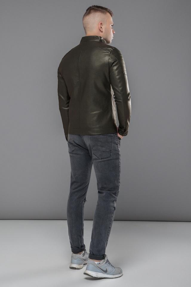 """Куртка мужская непромокаемая осенне-весенняя цвет хаки модель 36361 Braggart """"Youth"""" фото 5"""